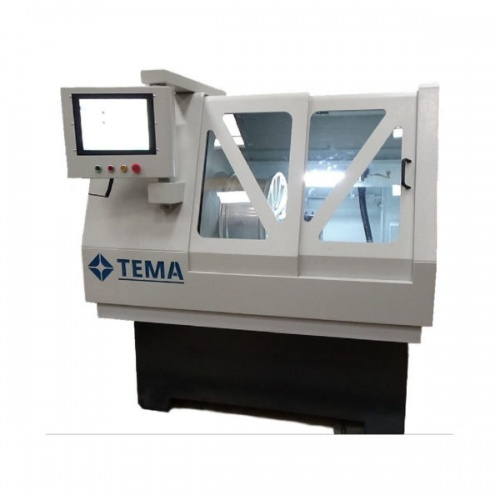 TEMA M200 Micro cnc Touch screen alloy wheel lathe