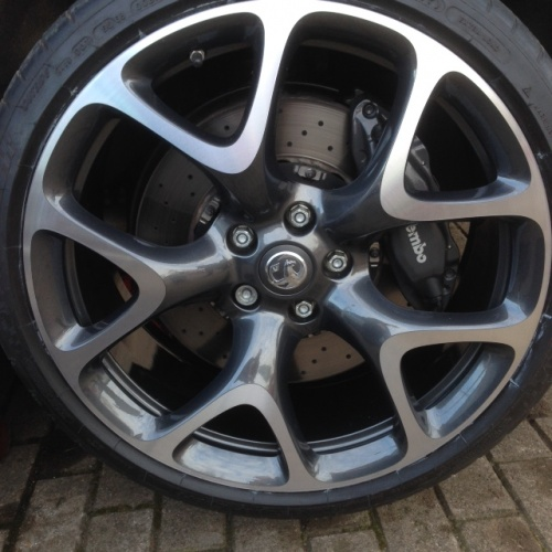 VAUXHALL VXR DARK ANTHRACITE DIAMOND CUT ( 24-00-63)