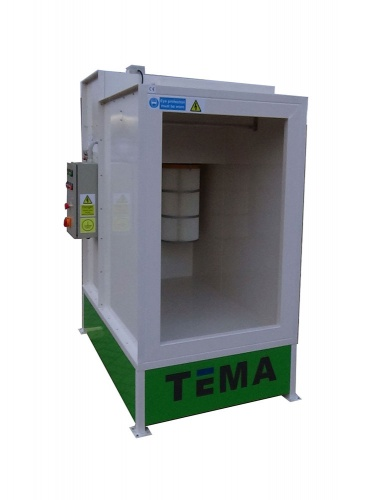 TEMA POWDER COAT BOOTH
