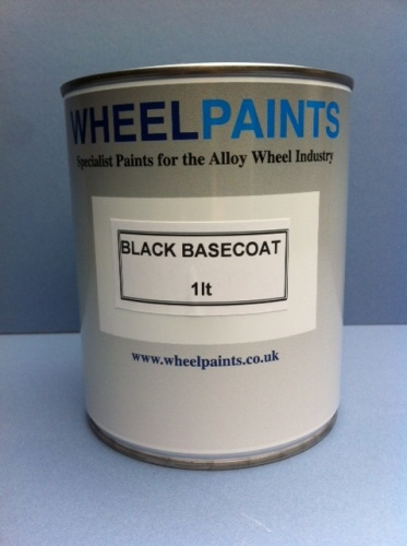 BLACK BASE COAT WATERBASED (19-00-10W)