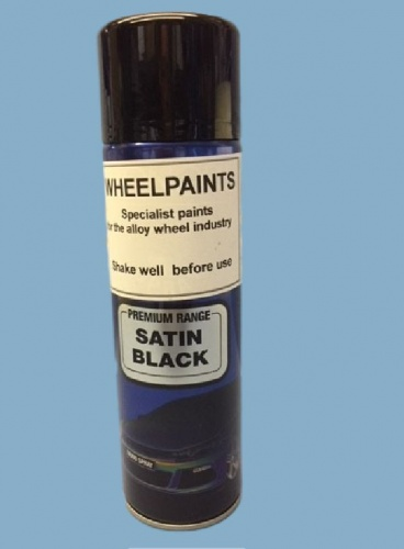 1K Satin Black 500ml Aerosol