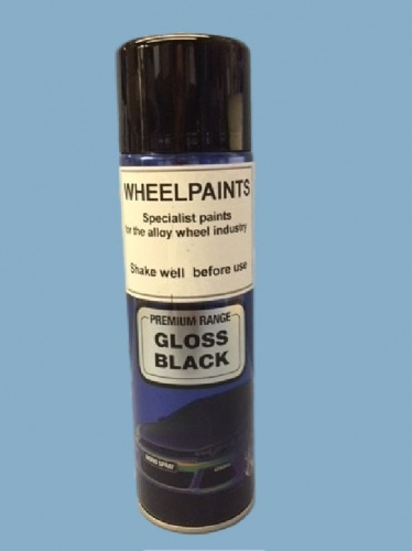 1K Gloss Black 500ml Aerosol