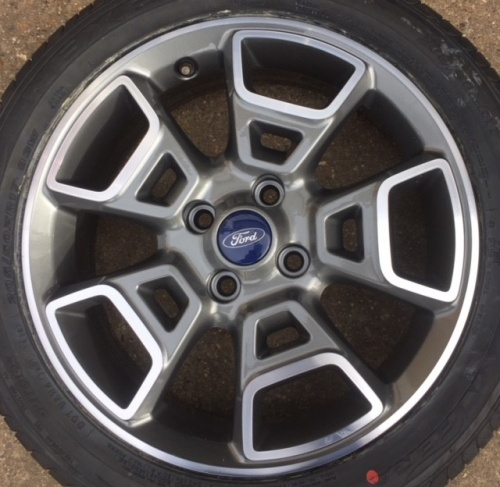 FORD ECO SPORT ANTRACITE GREY MET