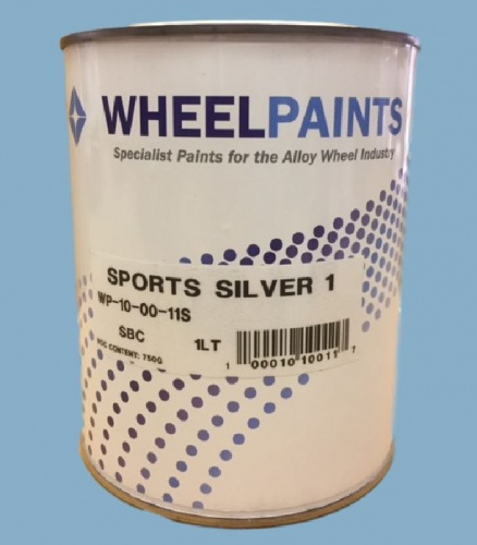 Sports Silver 1 Basecoat (10-00-11S)