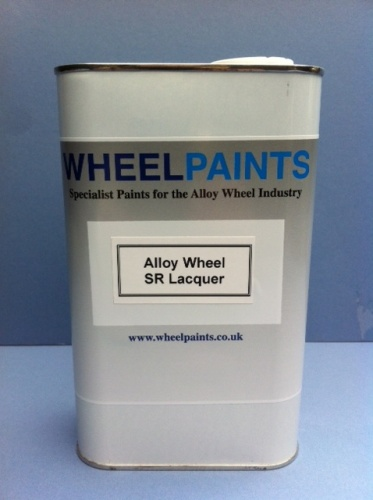 ALLOY WHEEL LAK 2K CLEARCOAT SR LACQUER (30-00-20)