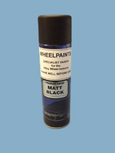 1K Matt Black 500ml Aerosol