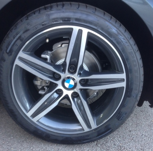 BMW DARK GREY METALLIC DC (24-00-39)