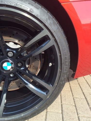 BMW M4 SMOKE BLACK TINT (24-00-85)