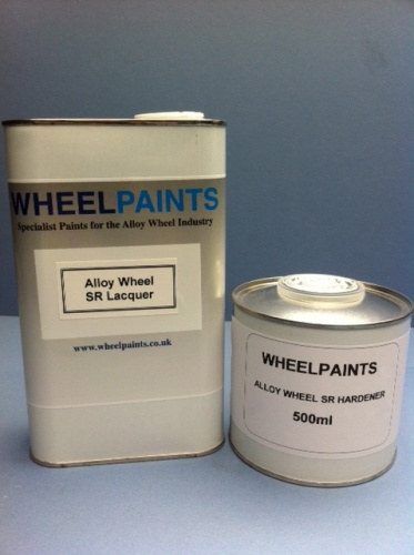 ALLOY WHEEL LAK 2K CLEARCOAT SR LACQUER PACK (30-00-20)