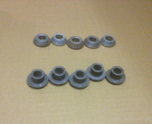 Zetamak replacement lug spacers Range Rover