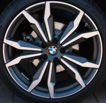 BMW ORBIT MATT GREY MET (24-00-213)