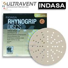 INDASA RHYNOGRIP HT LINE 150MM P80 GRIT DISCS (90-050-150/80)