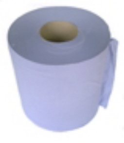 Blue Paper Towel Roll (90-00-35)